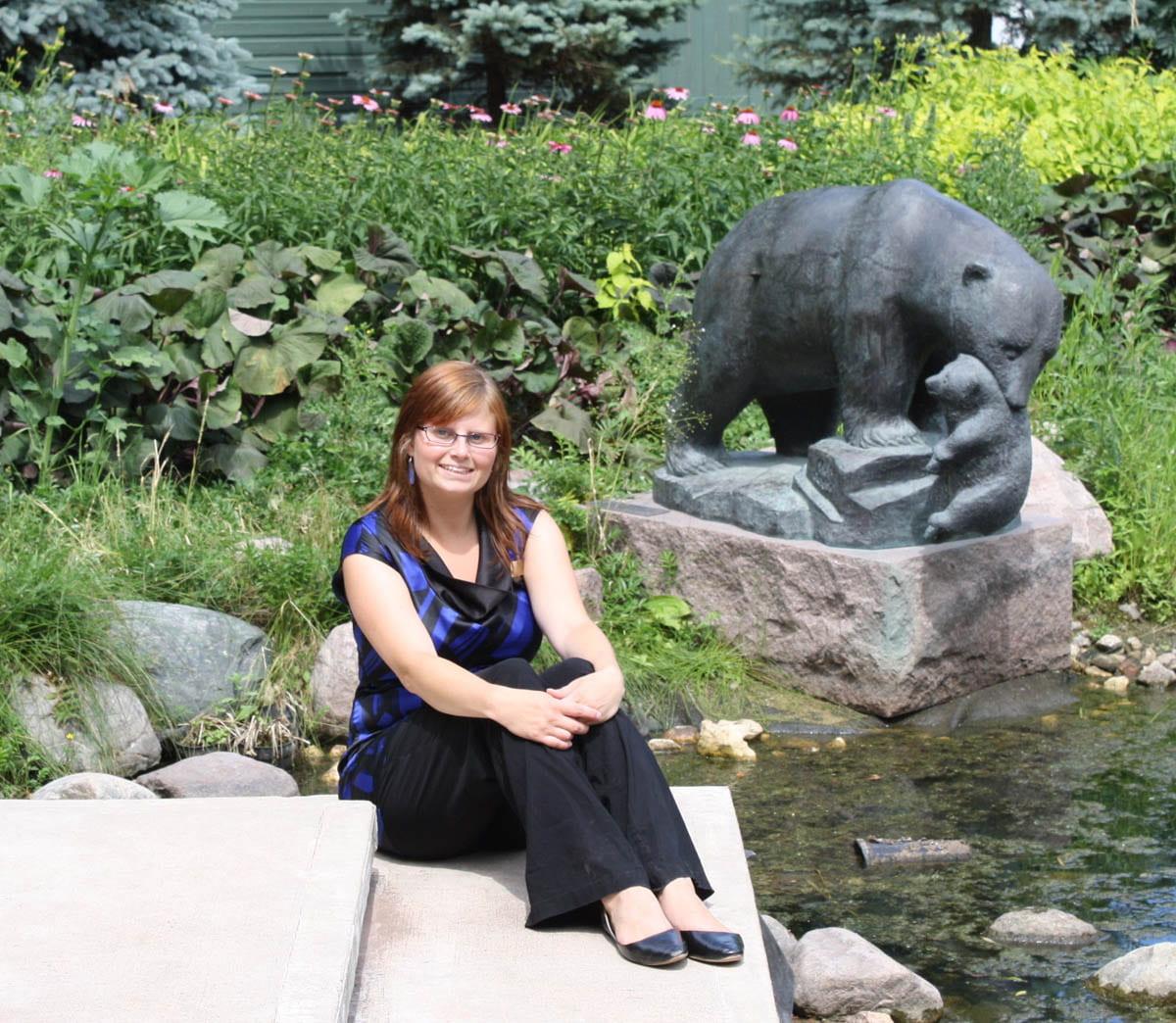 Karen Cox at Assiniboine Park