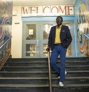 Raymond Ngarboui, Hugh John Macdonald School