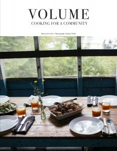 Book cover: Volume – Cooking for a Community