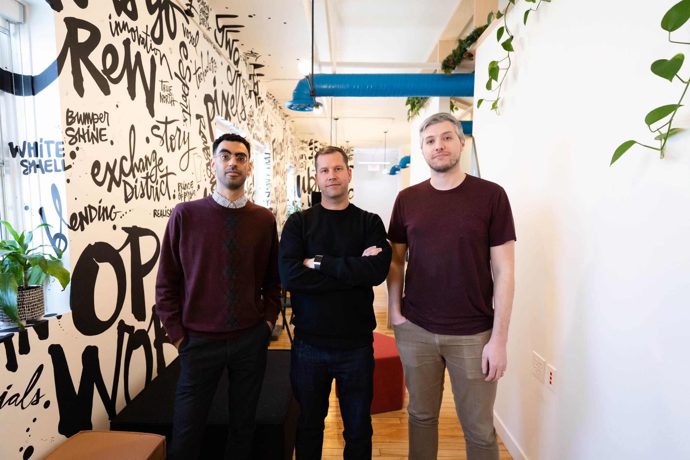 Ibrahim Shahin, Kent Wilson and Spencer Marr