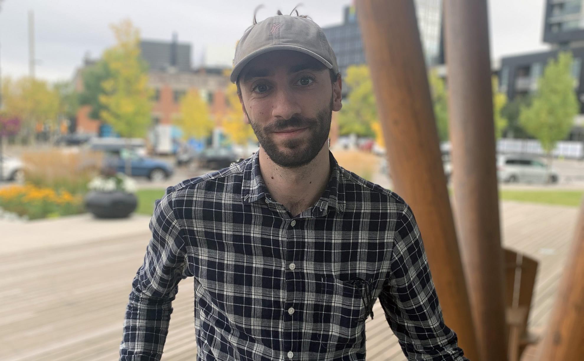 Martin Bshouty in Calgary