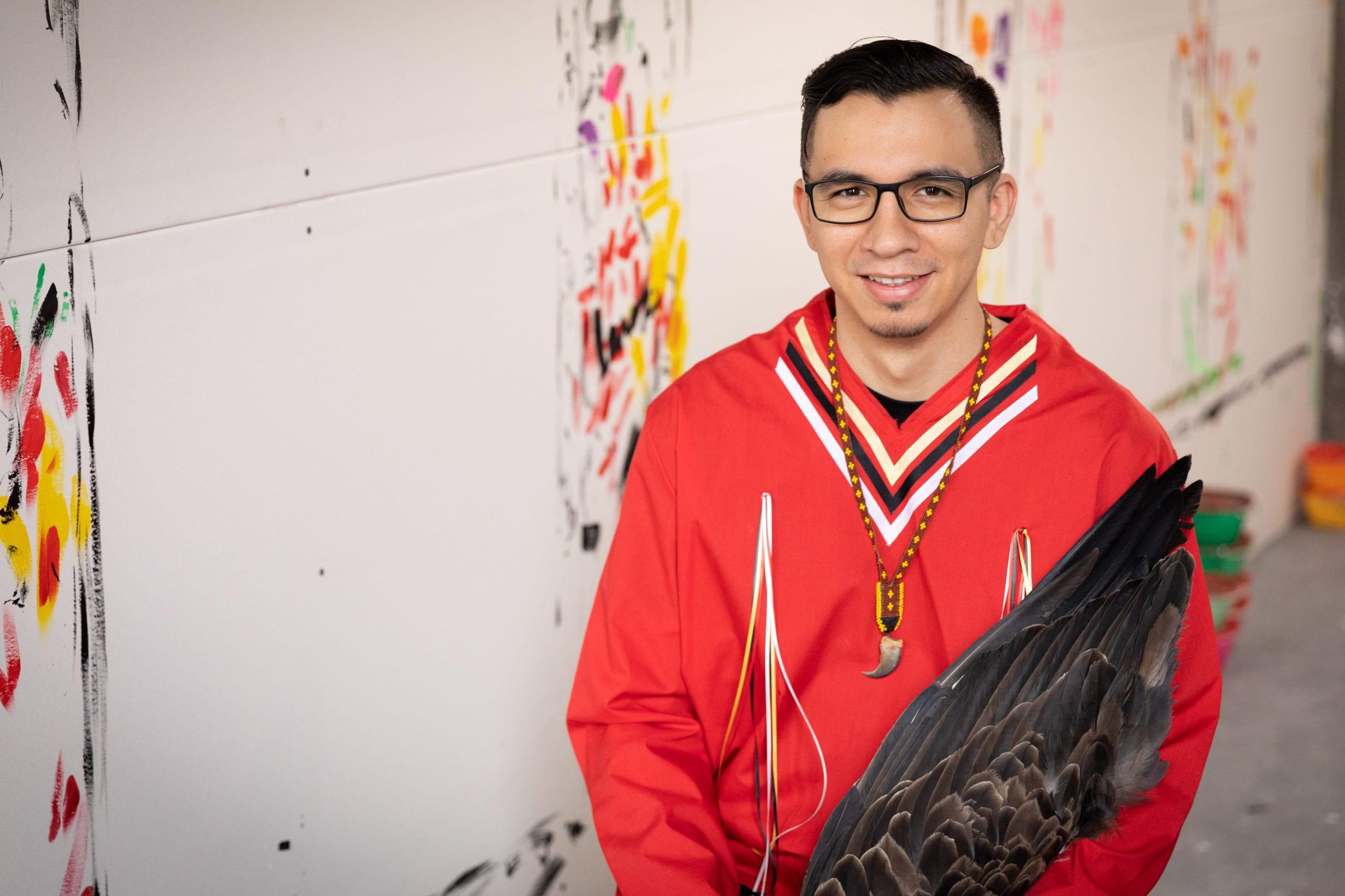 RRC grad and Winnipeg artist Jordan Stranger