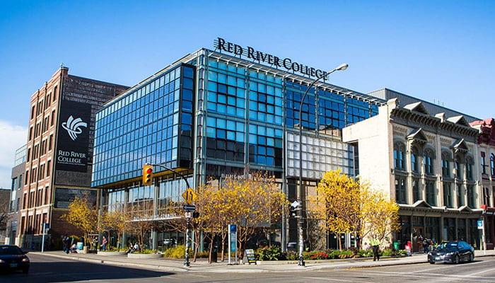Exterior of the Roblin Centre
