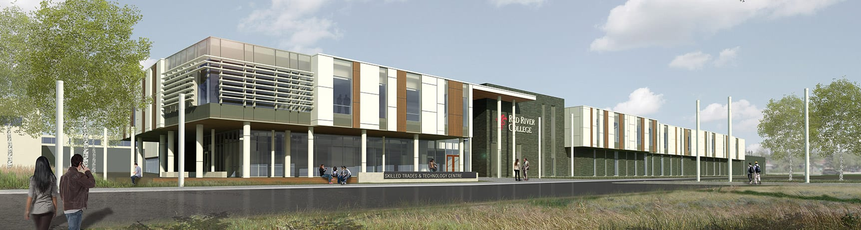 Skilled Trades and Technology Centre - Exterior
