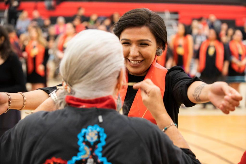 Indigenous graduation ceremony