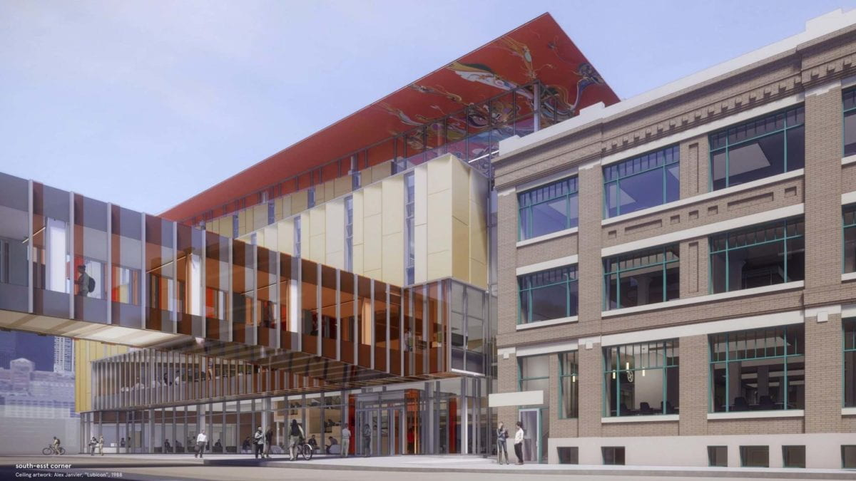 Facade Rendering of the RRC Innovation Centre