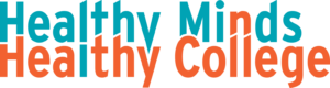 Healthy Minds Healthy College logo