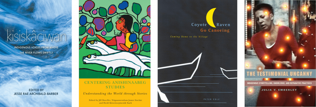 Cover art - books about storytelling