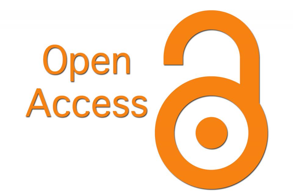 Open access logo appears as open lock