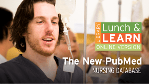 Library Lunch and Learn - The New PubMed image
