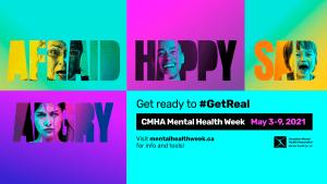 Mental Health Week Get Real banner