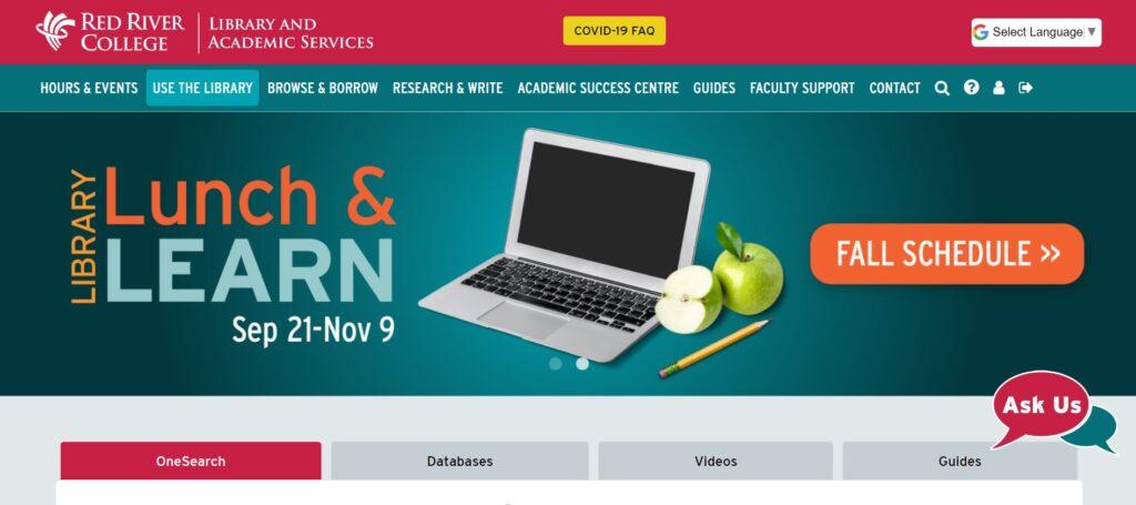 New Library Website - September 2021
