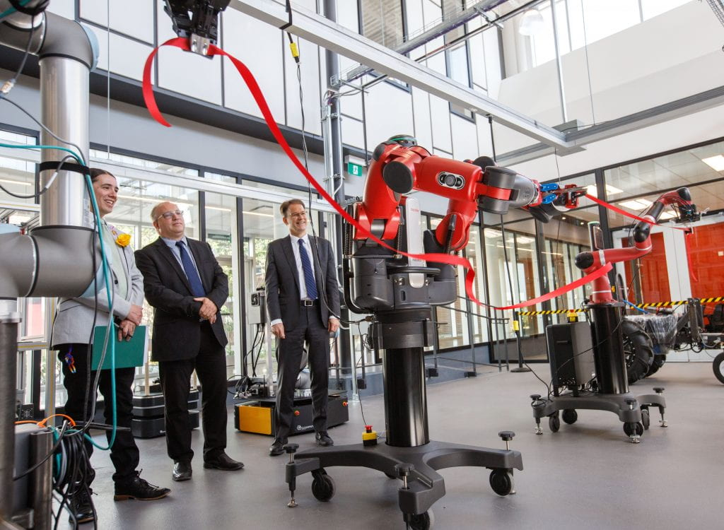 Smart Factory opening, Red River College