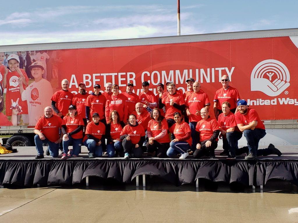 RRC's staff team at United Way Plane Pull 2019