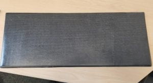 Close-up of carbon fibre panel