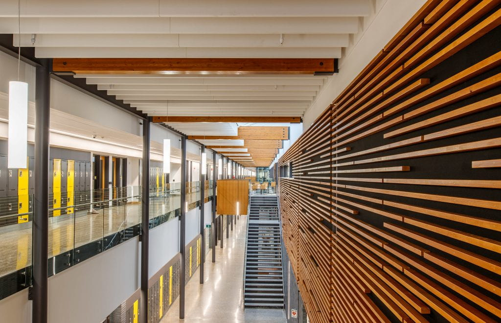 Interior of Skilled Trades and Technology Centre