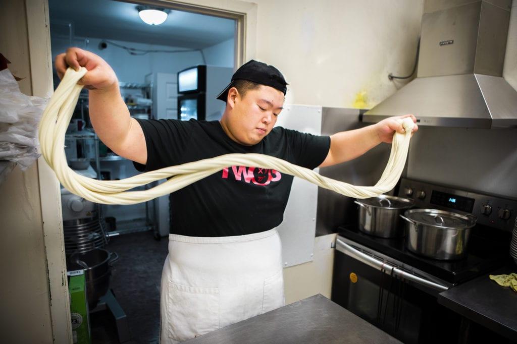 Chef XiaoFei Zuo, Dancing Noodle