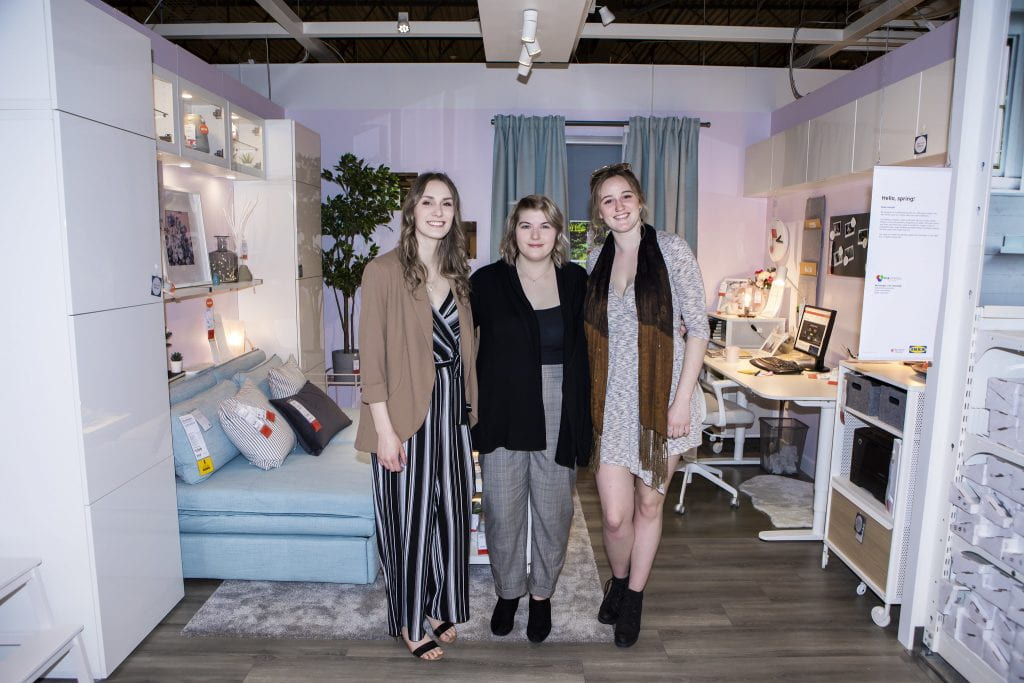 Residential Decorating students, IKEA Co-Create Space