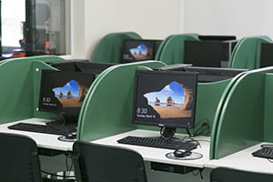 Computers in an exam room