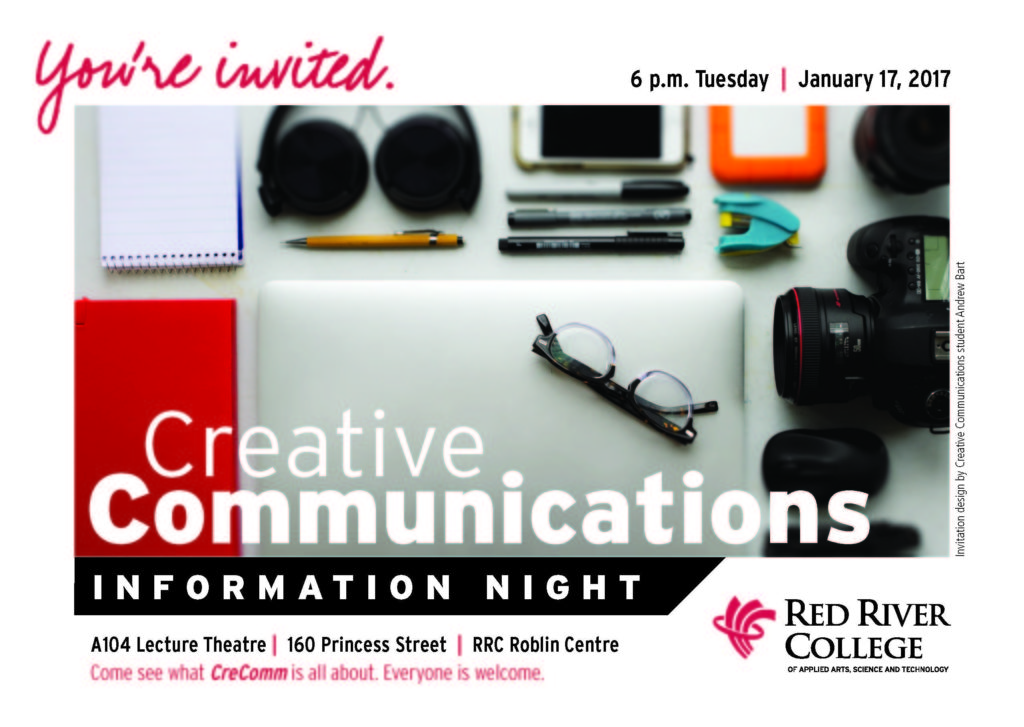 CreComm Info Night invite