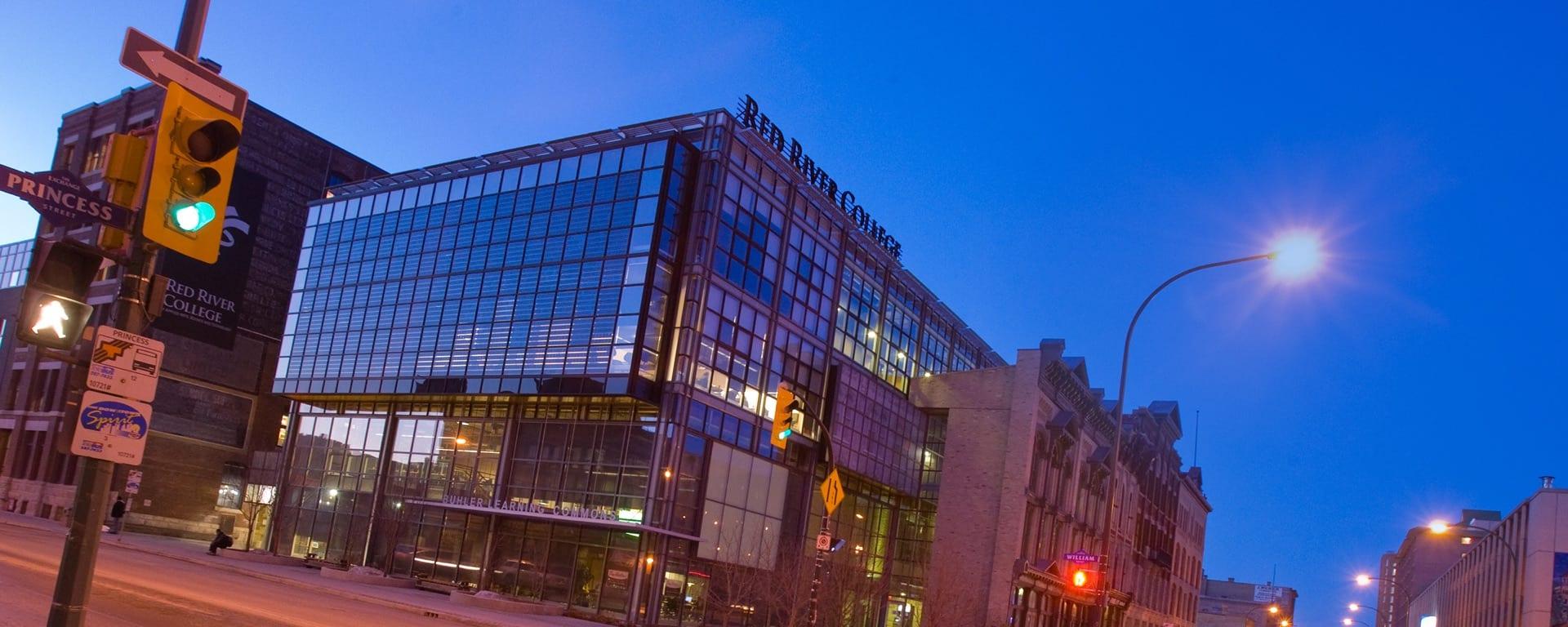 Exchange District Campus exterior