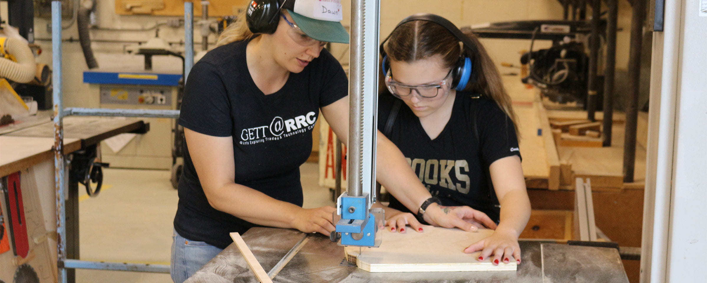 Girls Exploring Trades and Technology Camp, Red River College