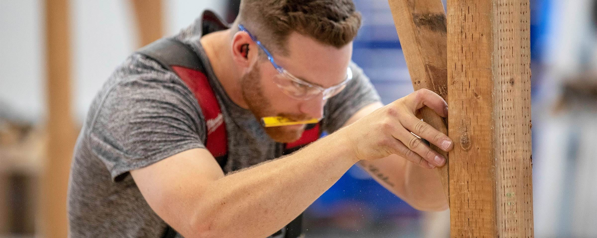 Carpentry competition, Red River College