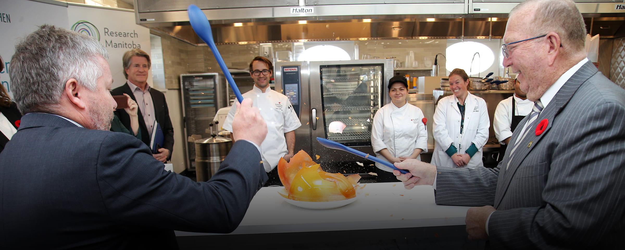Opening, Prairie Research Kitchen