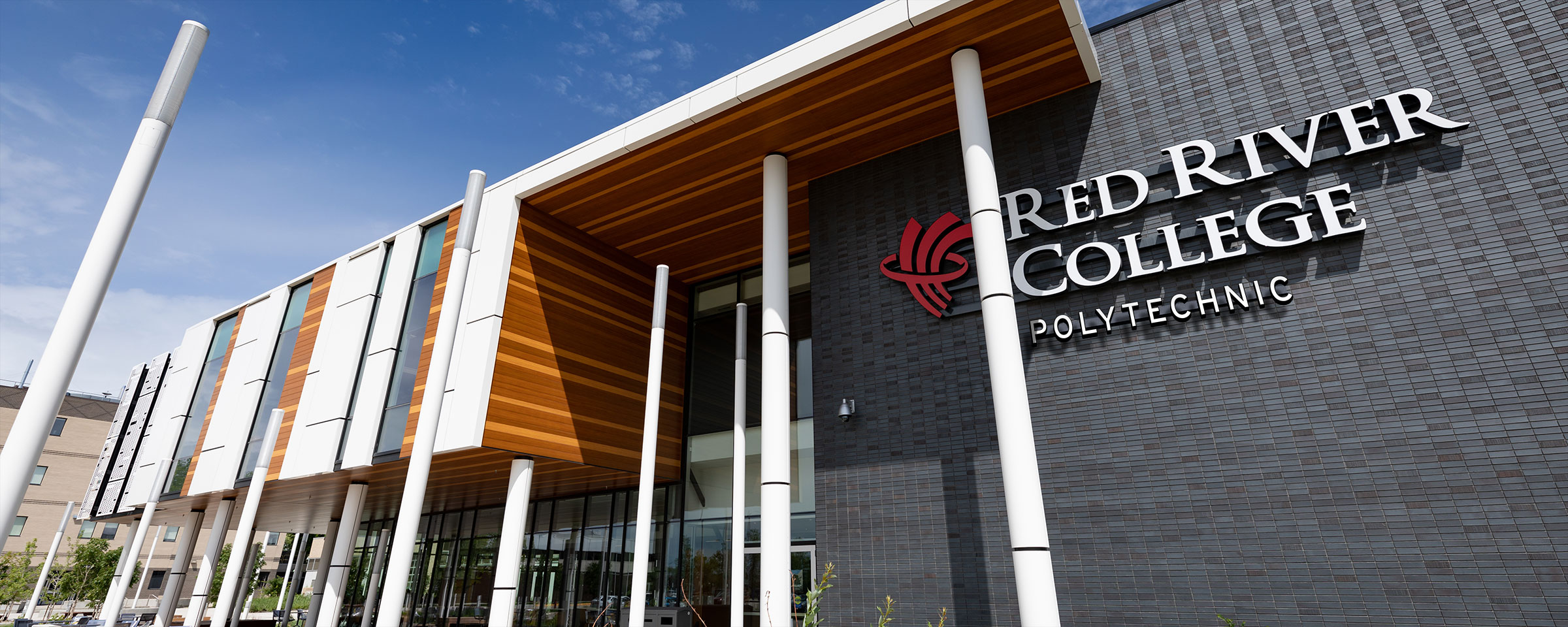 Red River College Polytechnic sign