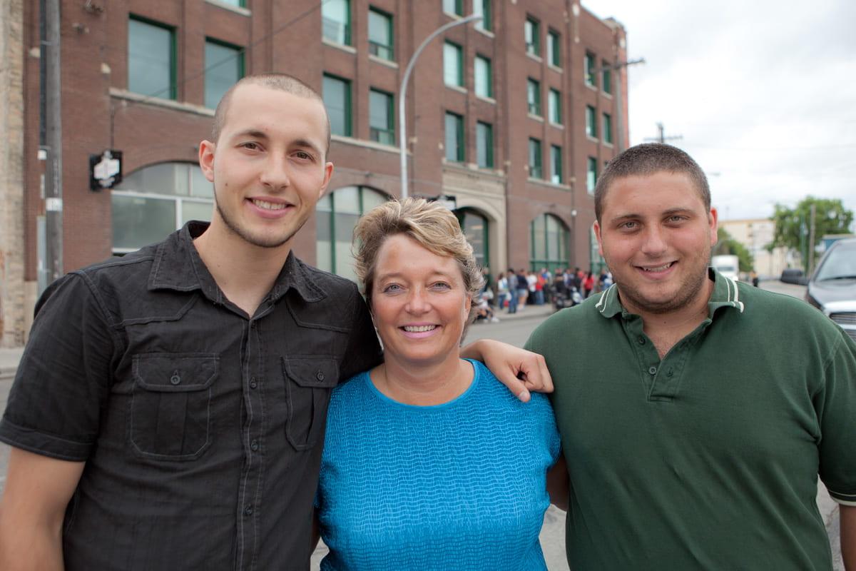 Raf, Judy and David Richichi