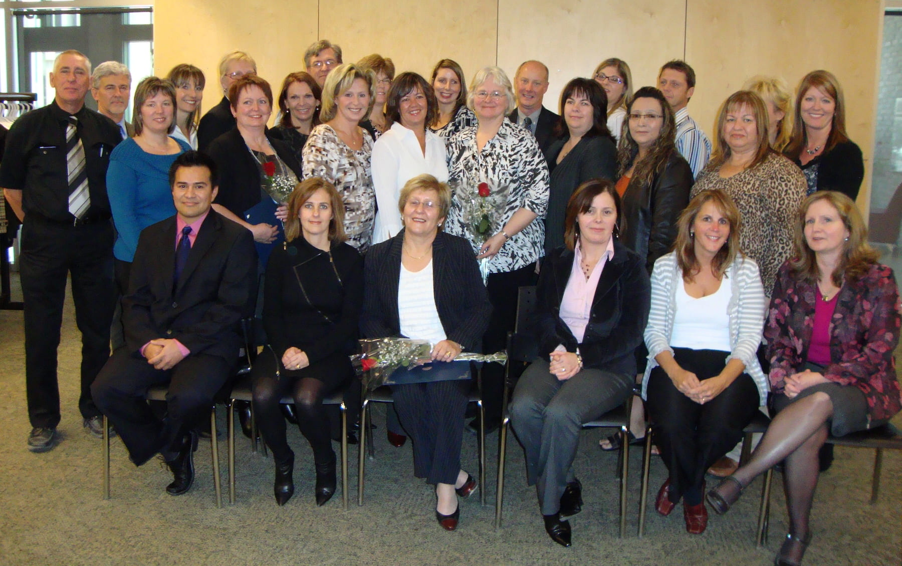 Group shot, Health Information Management grads