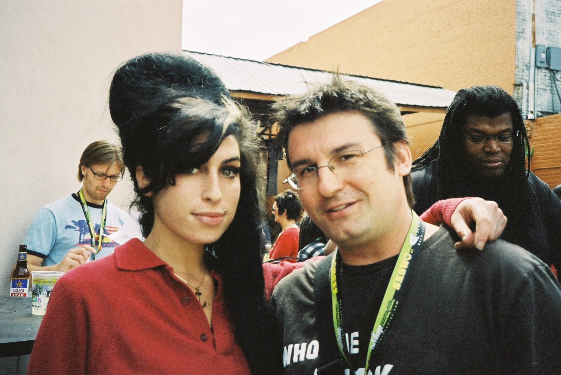 Amy Winehouse and Rob Williams
