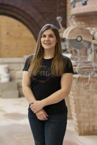 Nina Widmer, bricklayer