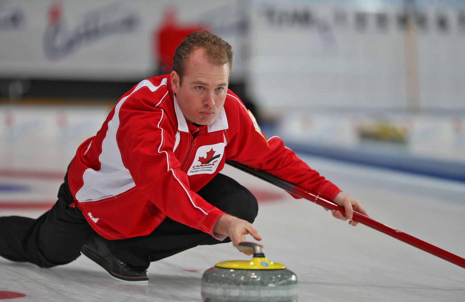 Sean Grassie curling