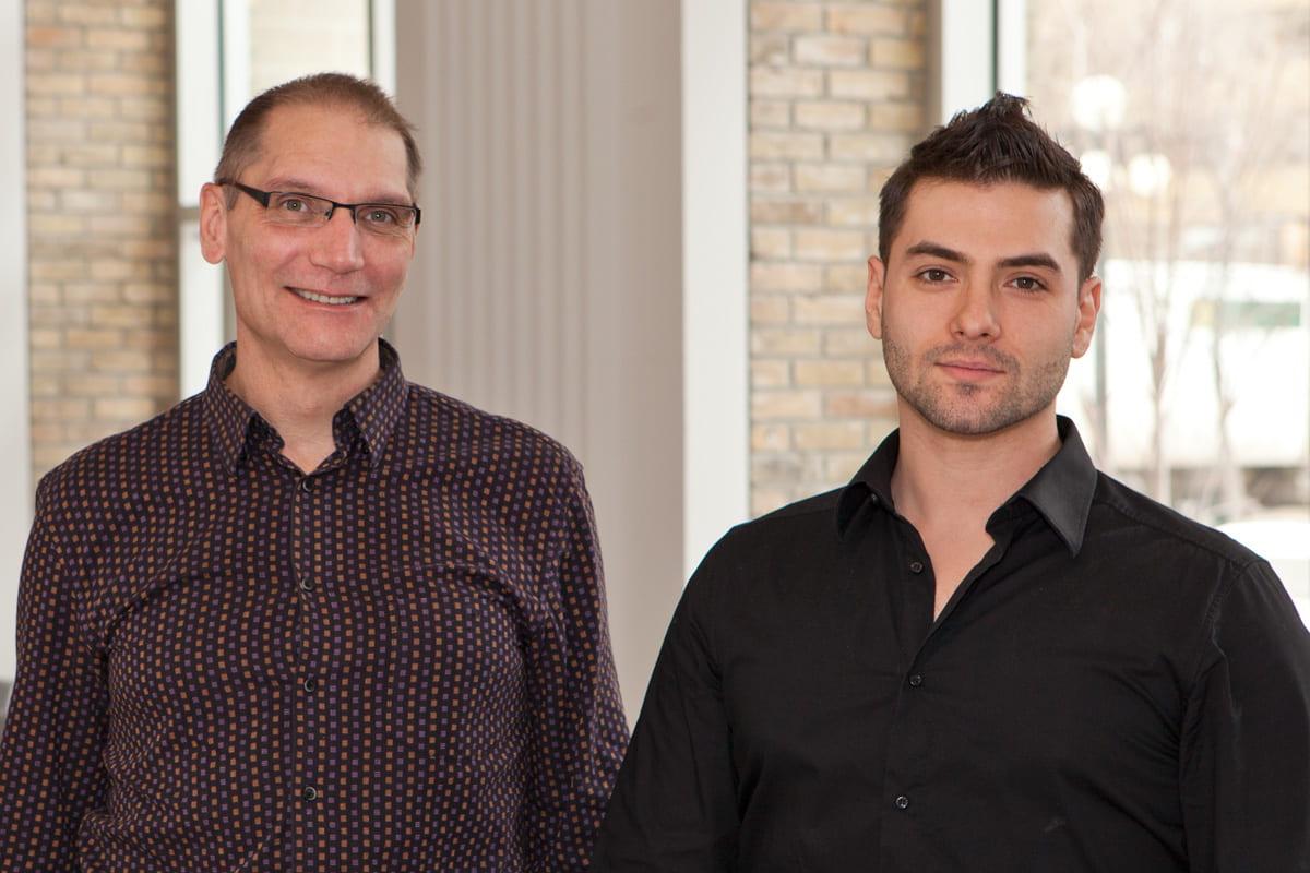 Glenn Garbett and Chris Sousa