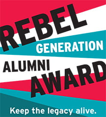 Rebel Generation Alumn Award