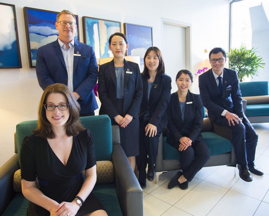 Delta Hotel staff