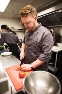 Chef Thomas stuart, Thermea by Nordic Spa