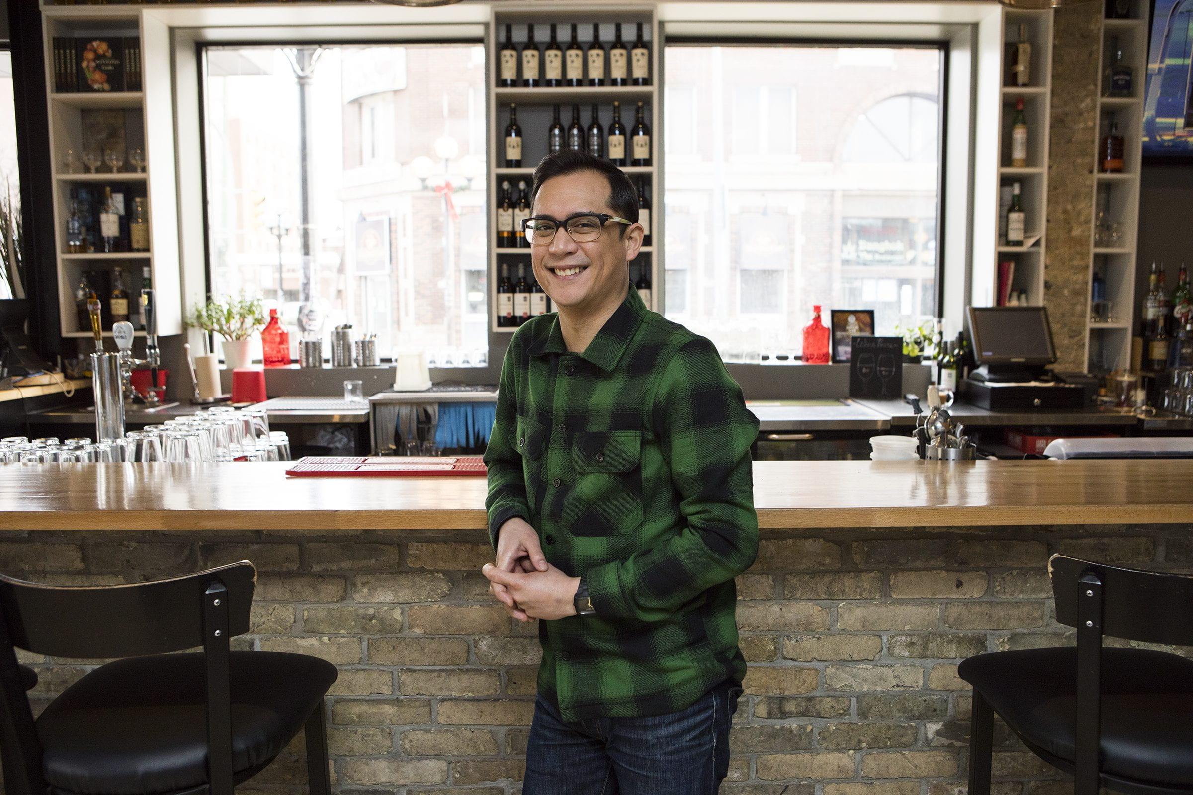 Chef Norm Pastorin, Cornerstone Bar & Restaurant
