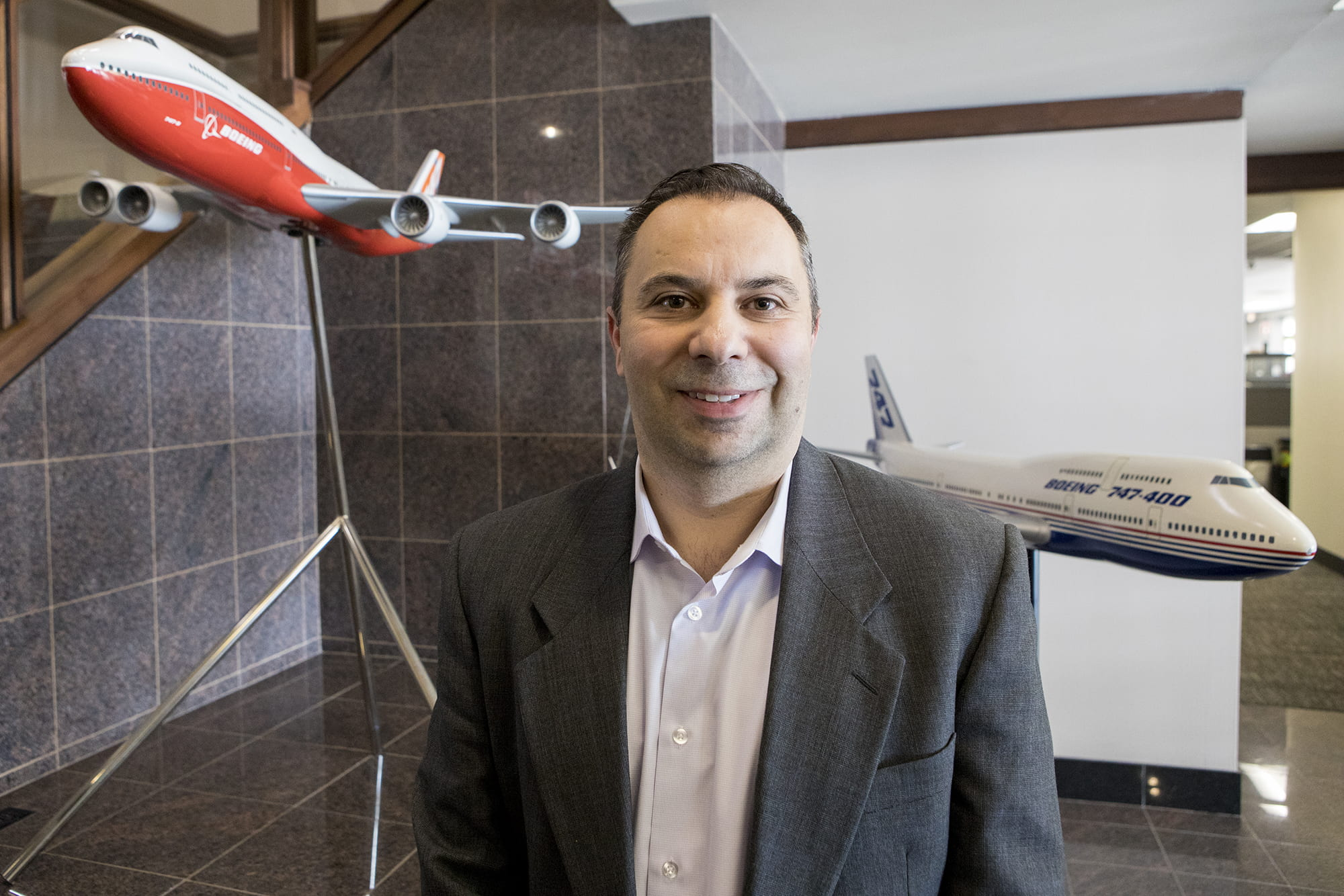 Nick Belivacqua, Boeing Canada Winnipeg