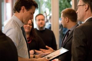 Justin Trudeau at Red River College