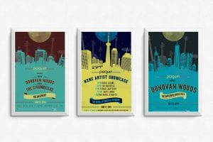 Posters designed by Roberta Landreth