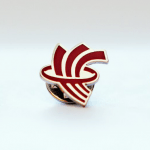 Red River College pin