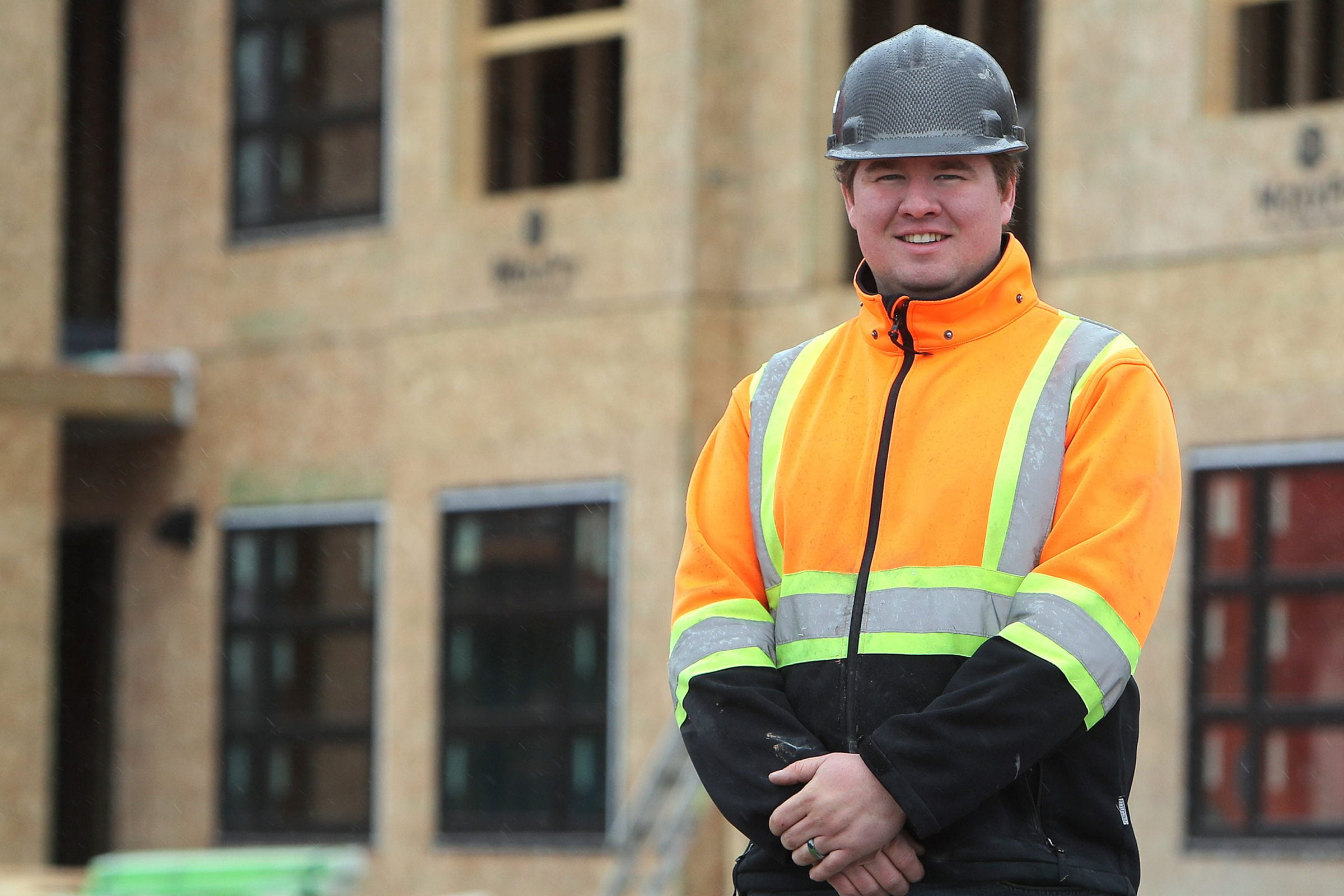 Joe Froese, RRC Carpentry graduate