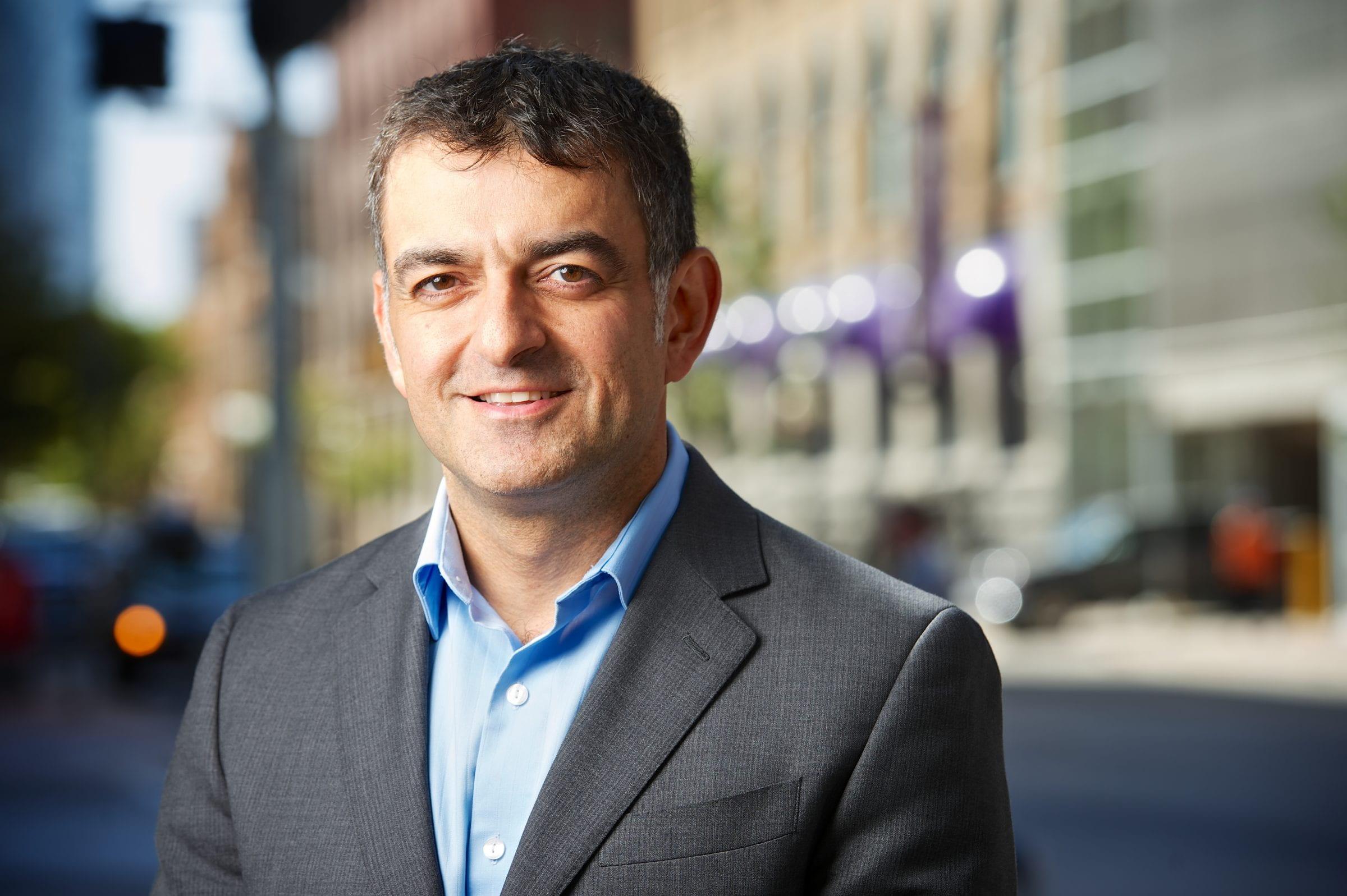 Louie Ghiz, Executive Director of New Media Manitoba