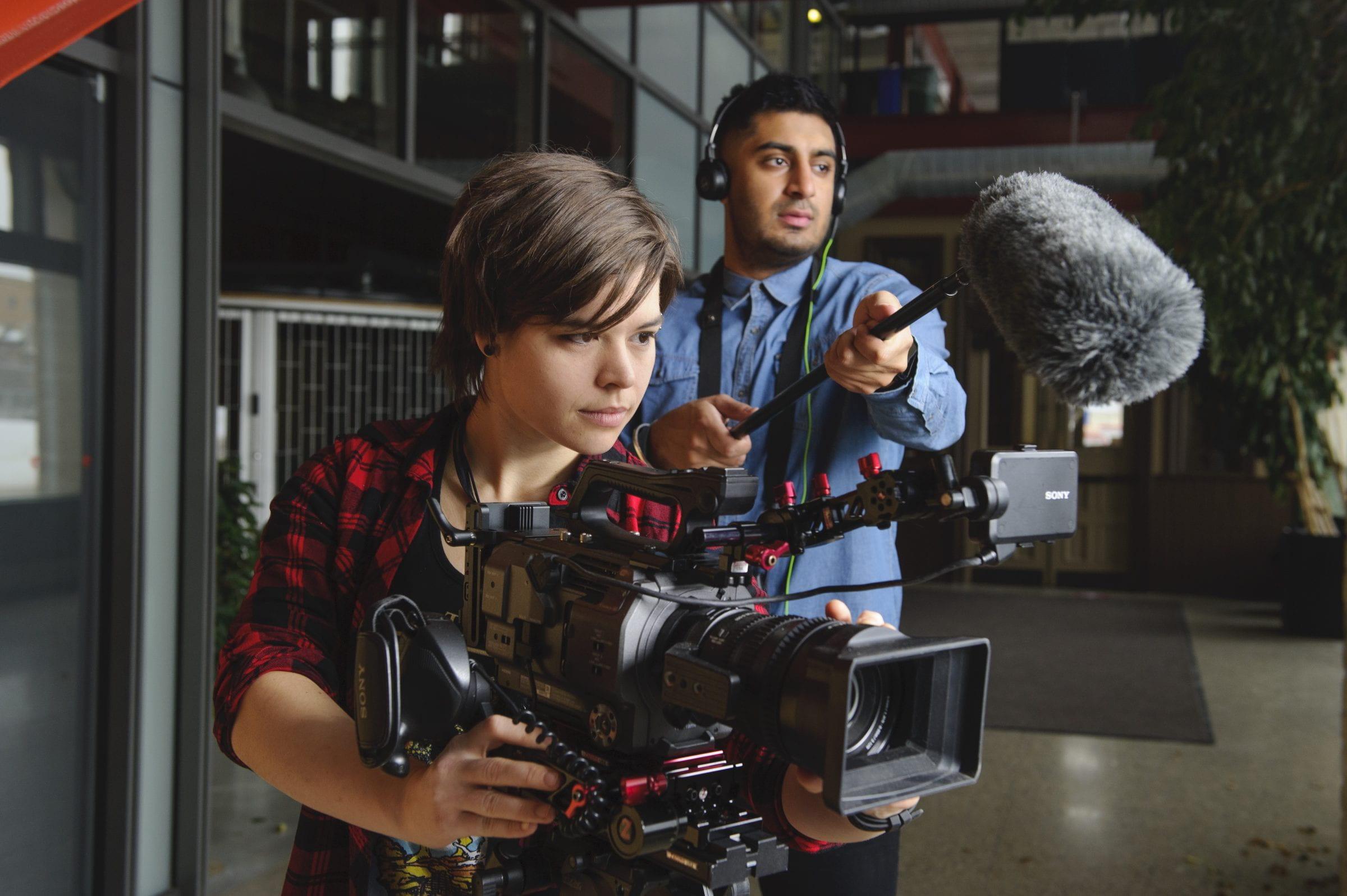 RRC grads use cutting-edge film equipment