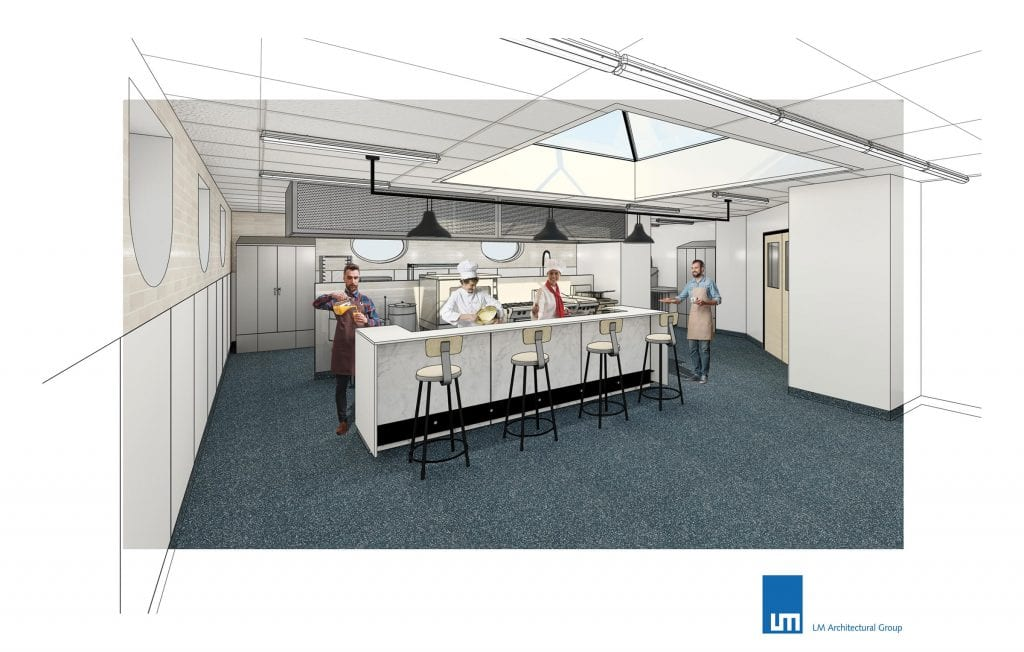 Paterson GlobalFoods Research Kitchen Rendering