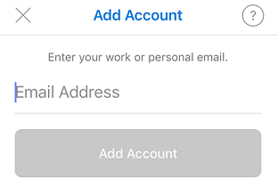 add account window