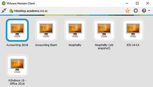 desktop connection window