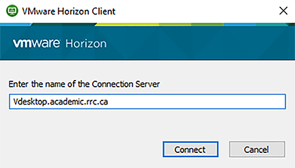 server name field